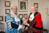 President of Tynwald welcomed to the Mayor's parlour