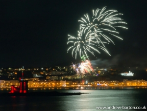 Douglas Borough Council Fireworks Display