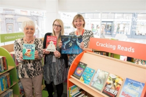Henry Bloom Noble Library invests in specialist book collection for young reluctant readers
