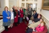 Mayor and Mayoress host staff and residents from Ellan Vannin residential home
