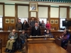 Thie Quinney residents welcomed to the Town Hall