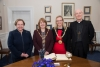 Mayor extends a welcome to Bishop of Sodor of Man