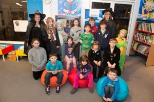 A 'wizard' evening at the library
