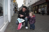 "Easter Saturday sees town centre ""choc-full"""