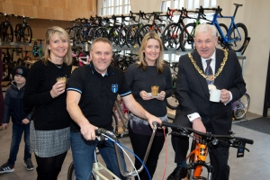 Bikes and bakery businesses open in Market Hall