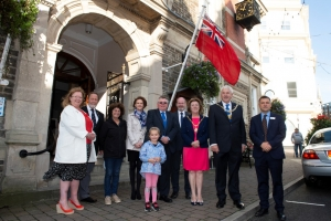 Douglas flies the flag for Merchant Navy Day