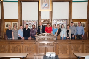 Young Farmers crop up in town hall