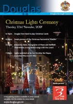 Christmas lights switch-on ceremony
